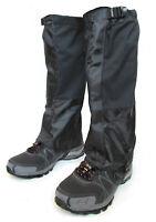 Hiking Gaiter - Waterproof Leg Gaiters - Nylon Lightweight Gaiter w/ Storage Bag