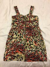 Leopard Print Evening Dress  Size 14 - Next