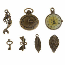 Assorted Designs Punk Steampunk Charms Pendants Beads for Necklace