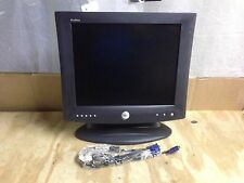 "Dell 17"" LCD Monitor  E1702fp VGA LCD flat screen computer monitor ** LOT of 2 *"