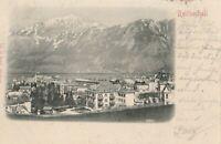 Ansichtskarte Bad Reichenhall 7.7.1901 verschickt nach Innsbruck