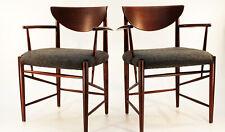 1/2  Danish Teak arm chair 317 Peter Hvidt Armlehn-Stuhl 60er Sessel France TOP