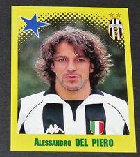 ALESSANDRO DEL PIERO JUVENTUS TURIN BIANCONERI PANINI FOOT 98 FOOTBALL 1997-1998