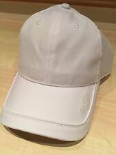 Calvin Klein Mens Microfibre Baseball Cap - One Size Golf Hat White