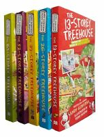 13 Storey Treehouse Series 5 Books Kids Children Andy Griffiths Fun Reading New