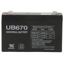UPG 6V 7AH SLA Battery Replacement for Mini Motos 12v  F1 Go-Kart MM-GB81A