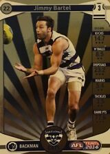 2014 afl TEAMCOACH GOLD GEELONG CATS JIMMY BARTEL #22 CARD FREE POST