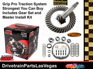 Grip Pro Posi GM Chevrolet 8.6 30 Spline 4.56 Performance Gears Timken Pro Pack