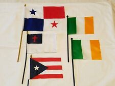 International Country Flags - lot of (5)