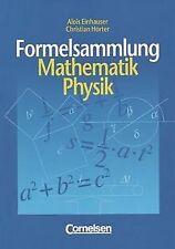 Formelsammlung Mathematik, Physik von Alois Einhauser | Buch | Zustand gut