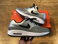NIKE AIR MAX 1 NRG ROYAL REFLECTIVE GOLF SHOES TRAINERS UK10 EUR45  US11 DENIM