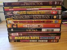 Lot A51- 11 Martial Arts Action Dvd Movies Jet Li Jackie Chan Bruce Lee