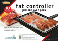 Toastabags Pak of 10 Fat Controlling Grill and Oven Pads - Silver