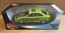 Hot Wheels Custom Honda Civic Si Car Super Street Wings West Die Cast 1:18 NEW
