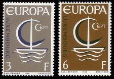 Luxembourg 1966 Mi 733-34 ** Europa Cept
