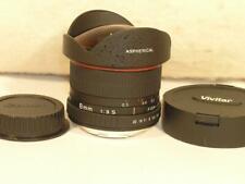 Mint Spotless Vivitar 8mm F3.5 CS Fish-Eye Manual Canon EOS EF Mount Lens