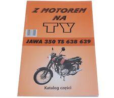 Ersatzteilekatalog Buch Katalog für Motorrad JAWA TS 350 638 639 Handbuch Neu