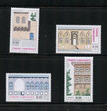 Turkey  1997  architecture houses  4v.    MNH  N499