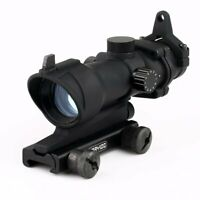 1x32 Red/Green Illumination Dot Sight Rifle Scope with 20mm Weave Mount AU