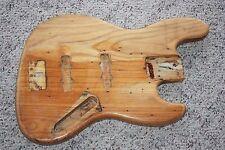 1971 1972 1973 Fender Jazz bass body original natural 5 lb 14 oz 4-bolt