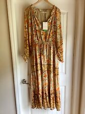 Seashell Gown XXL Spell And The Gypsy 4 Free People Bohemian Hippie Lagenlook