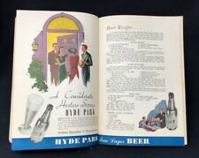 HYDE PARK BEER 1938 Two Page Color Advertisement  ST. LOUIS, MISSOURI