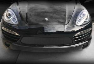 Porsche Cayenne Black Bumper Mesh Grille Kit Grill 2011 2012 2013 2014 models