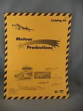 Meteor Productions Model Kit Price Catalog #9 Military Tanks Fighter Planes 1994