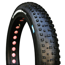 "Vee Rubber Snowshoe Fat Bike Tire 26 x 4.7"" 120 tpi Folding Bead Black"