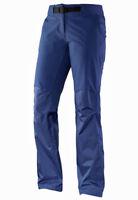 Damenhose Outdoorhose Trekkinghose Wanderhose Salomon Field Pant W, blau, Gr. 30