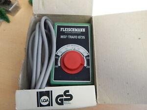 Fleischmann 6735 MSF - TRAFO 0,5 A mit Feinregelung in OVP GUTER ZUSTAND