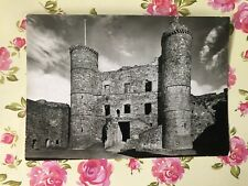 HARLECH CASTLE MERIONETH GATEHOUSE FROM THE SOUTH-WEST POSTCARD