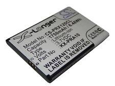 Batterie 1750mAh pour Panasonic KX-PRX110, KX-PRX110GW, KX-PRX120,