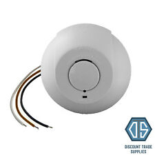 Interlinked Mains Smoke Alarm Detector 240V Battery Back Up Linked Photoelectric