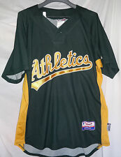 OAKLAND ATHLETICS A's Mens BP Spring Training Jersey Sz Large