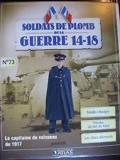 FASCICULE 73 SOLDATS  GUERRE 14-18 CAPITAINE DE VAISSEAU / Baille DE REVIGNY