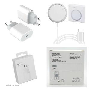 20W USB-C Power Adapter Schnellladegerät + 15W Magsafe Charger für iPhone 12