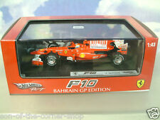 HOT WHEELS CARRERAS 1/43 FERRARI F10 #7 FELIPE MASSA 2º BAHRAIN GP 2010 T6290