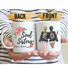 Best Friends Coffee Mug Custom Best Friend Mug Personalized Best Friend Gift Mug