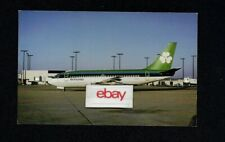 AER LINGUS IRISH AIRLINES BOEING 737-200 AIR FLORIDA LEASE 1970'S POSTCARD
