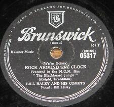 BILL HALEY ~ ROCK AROUND THE CLOCK b/w 13 WOMEN ~ 78 RPM E EXCELLENT GRADE