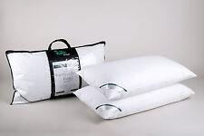 Pair of Luxury Super King Size Pillows 100% Premium Hungarian White Goose Down