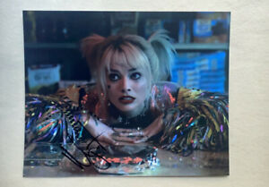 Harley Quinn Margot Robbie Signed Photo 8x10