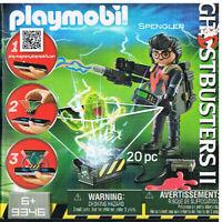 Playmobil 9346 Geisterjäger Egon Spengler Ghostbusters gruselige Geister Neu