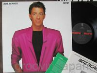 BOZ SCAGGS Hits! JAPAN MASTER SOUND LP Audiophile w/INSERT 30AP 2281 Free S&H