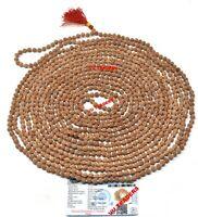5 Mukhi Rudraksha Mala / Five Face Rudraksh Rosary 1008 + 1 Beads Size : 7 MM