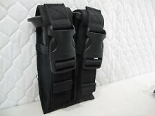 FAST BUCKLE BLACK  Double Stack Pistol Magazine BELT Mag Pouch GLOCK PARA USP G3