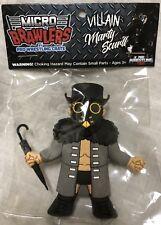 MARTY SCURLL Micro Brawlers Pro Wrestling Figure Villain Enterprises ROH NWA