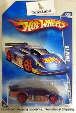 Hot Wheels 2009 075/190 Racing 09/10 Blue Gt Racer Car