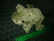 """Glove / Hand Puppet ~ Green FROG ~ Plush ~ CALTOY ~ Approximately 10"""" ~ NEW"""